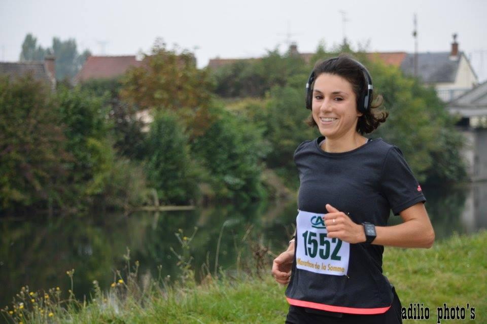 Premier marathon Amiens bête de course.