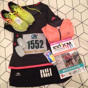 Équipement marathon bête de course