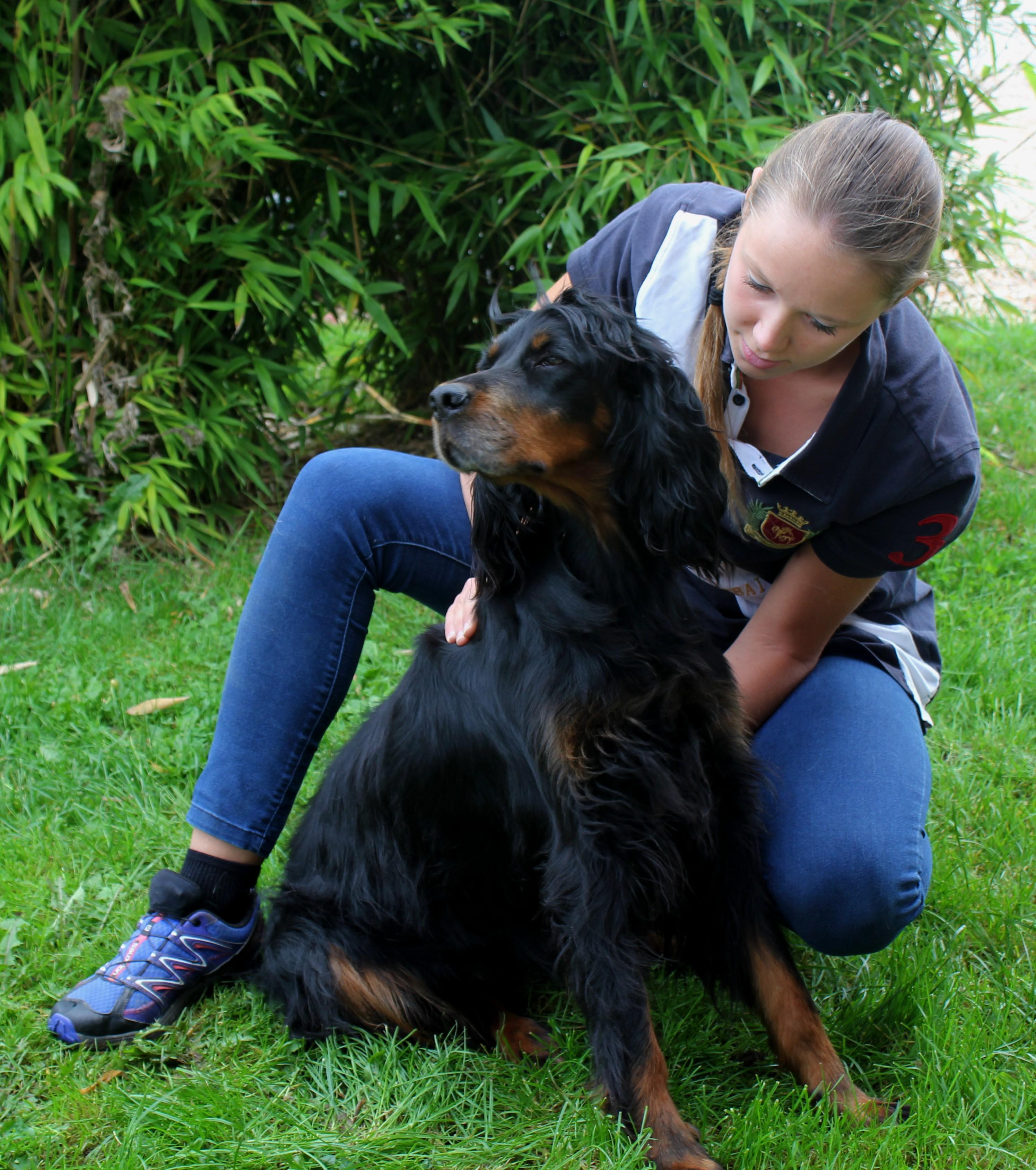 Aline Langlois ostéopathe canin