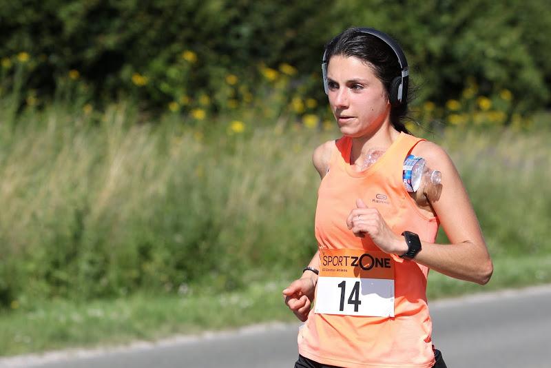 Semi-marathon Amiens sous la chaleur.